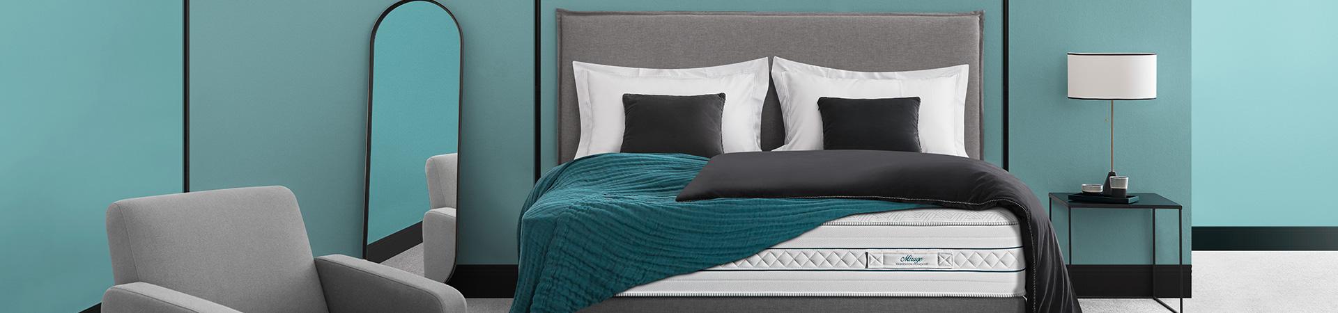 Literie à Saint-Malo : matelas, tête de lit, lit