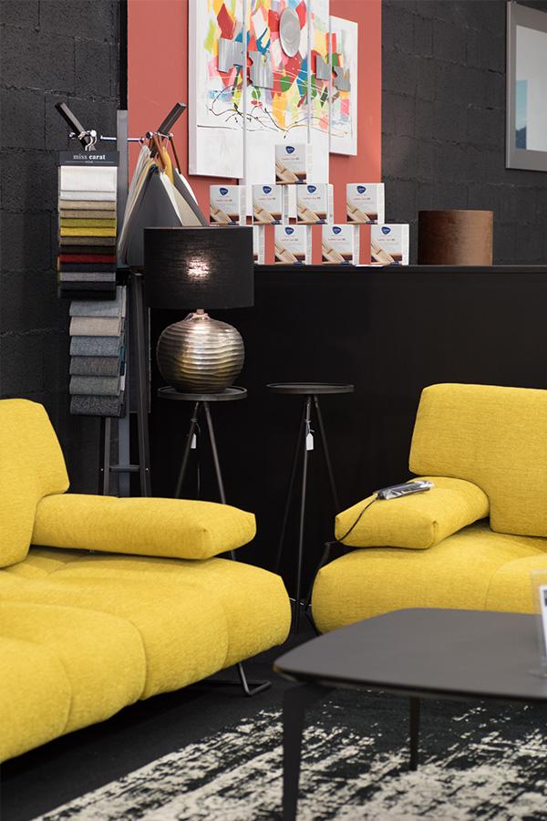 Salon : canapés, tables basse, fauteuils à Saint-Malo